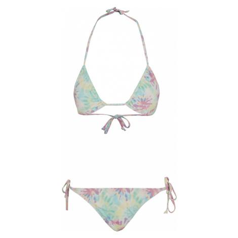 Urban Classics - Ladies Pastel Tie Dye Bikini - Bikini - multicolour