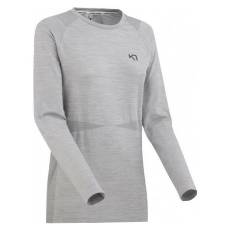 KARI TRAA MARIT LS gray - Women's sport T-Shirt