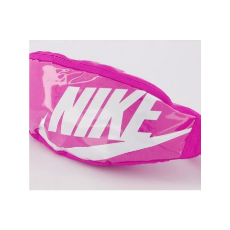 Nike Heritage Fanny Pack FIRE PINK WHITE