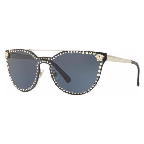 Versace Woman VE2177 - Frame color: Grey, Lens color: Grey-Black, Size 01-45/140