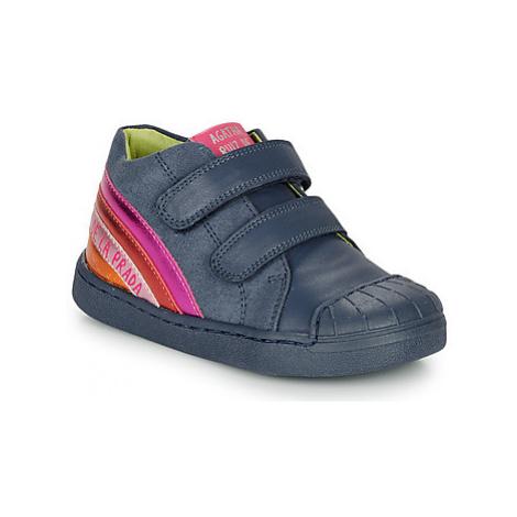 Agatha Ruiz de la Prada SUPREME girls's Children's Shoes (Trainers) in Blue