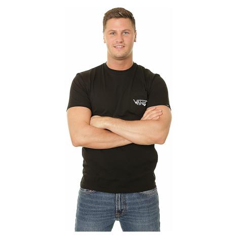 T-Shirt Vans Rowan Zorilla Skull - Black - men´s
