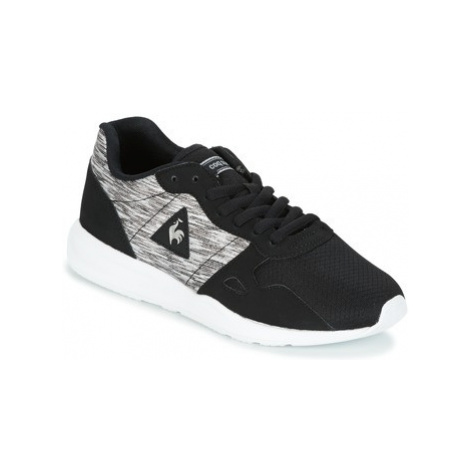 Le Coq Sportif LCS R600 W JACQUARD GLITTER women's Shoes (Trainers) in Black