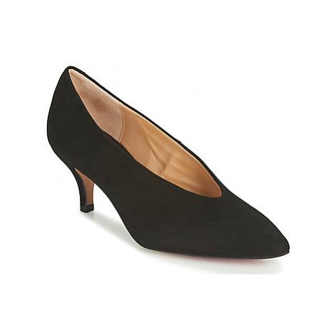 Perlato 10973-CAM-NOIR women's Court Shoes in Black