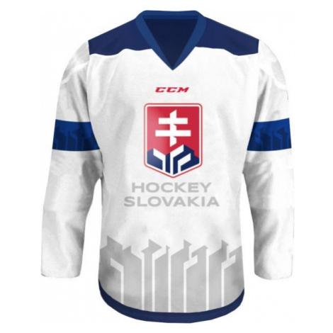 CCM JERSEY WITH A SZLH LOGO 18/19 white - Ice hockey jersey
