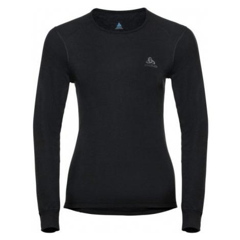 Odlo BL TOP CREW NECK L/S ACTIVE WARM black - Women's T-shirt