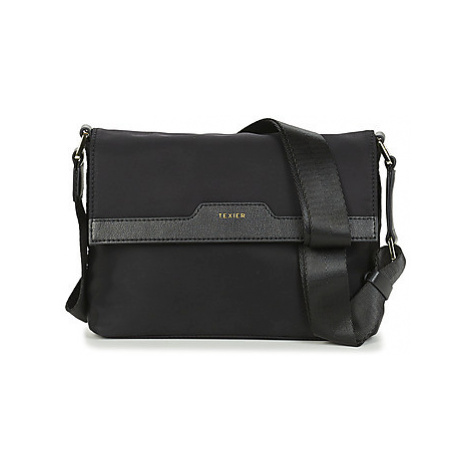 Texier CHARLIE women's Shoulder Bag in Black
