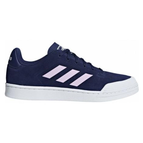 adidas COURT 70S dark blue - Men's leisure shoes