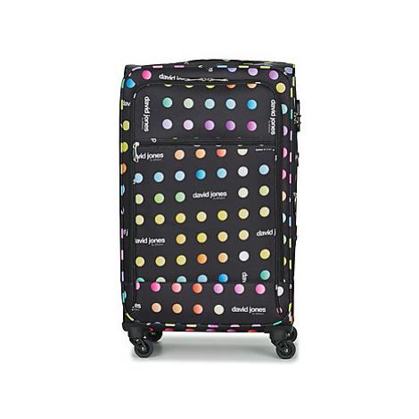 David Jones CASILO 106L men's Soft Suitcase in Black