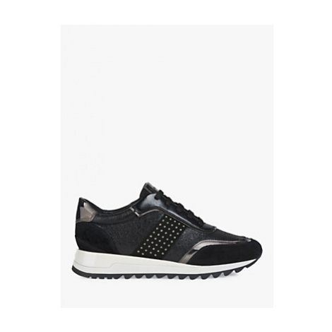 Geox Women's Tabelya Studded Lace Up Trainers