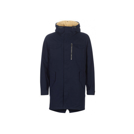 Benetton PATIRON men's Coat in Blue United Colors of Benetton