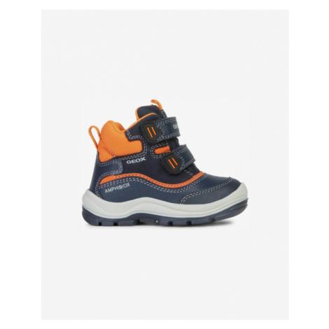 Geox Flanfil Kids Ankle boots Blue Orange