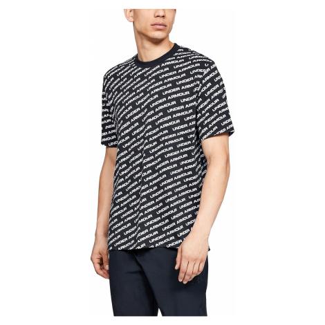 T-Shirt Under Armour Unstoppable Wordmark - 002/Black/White - men´s