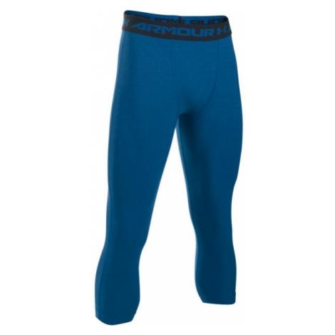 Under Armour HG ARMOUR TWIST 3/4 LEGGING blue - Men's 3/4 length compression tights