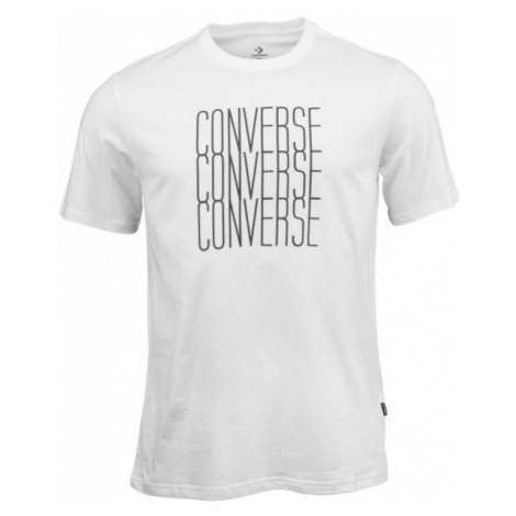 Converse LOGO REMIX TEE white - Men's T-shirt