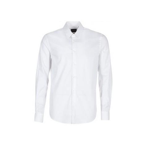 Sisley FENIMO men's Long sleeved Shirt in White