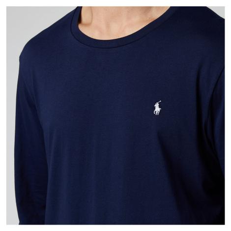 Polo Ralph Lauren Men's Long Sleeve Liquid Jersey T-Shirt - Cruise Navy - Blue