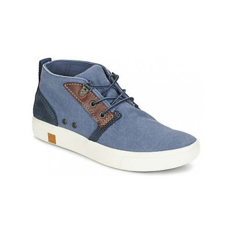 Timberland AMHERST CHUKKA women's Mid Boots in Blue