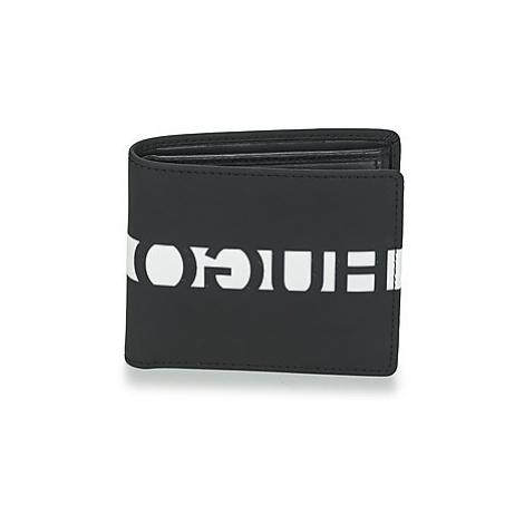 HUGO U BAHN 4 CC COIN men's Purse wallet in Black Hugo Boss