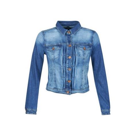 Benetton FESCAR women's Denim jacket in Blue United Colors of Benetton