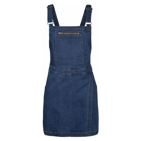 Forplay - Dungaree Wrap Dress - Dress - blue
