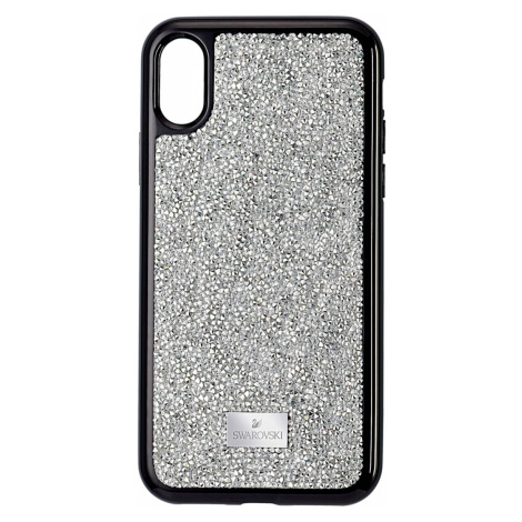 Glam Rock Smartphone Case, iPhone® XS Max, Silver tone Swarovski