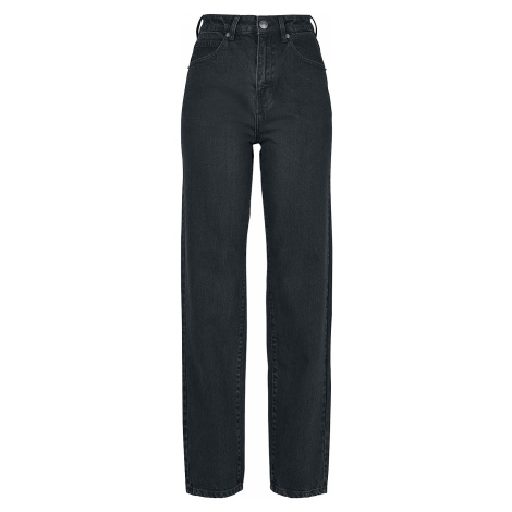 Urban Classics - Ladies High Waist Straight Jeans - Girls jeans - black