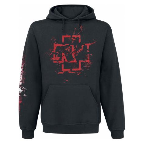 Rammstein - Mein Herz Brennt - Spraylogo - Hooded sweatshirt - black