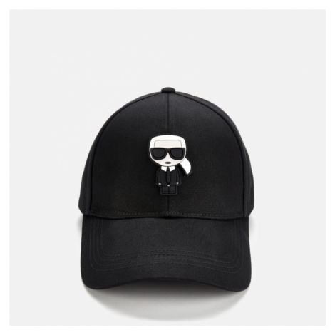 Karl Lagerfeld Women's K/Ikonik Cap - Black