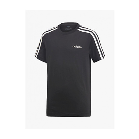 Adidas Boys' 3 Stripe Sleeve T-Shirt