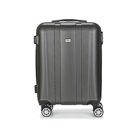 David Jones CHAUVETTO 40L men's Hard Suitcase in Grey