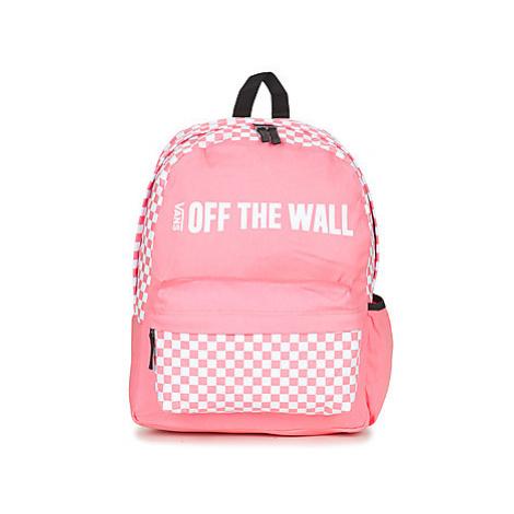 Vans CENTRAL REALM BACKPACK women's Backpack in Pink