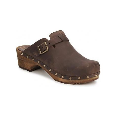 Sanita KRISTEL OPEN women's Clogs (Shoes) in Brown