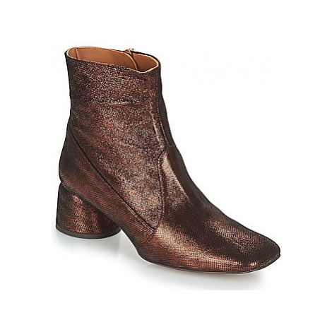 Castaner LAYNA women's Low Ankle Boots in Gold Castañer