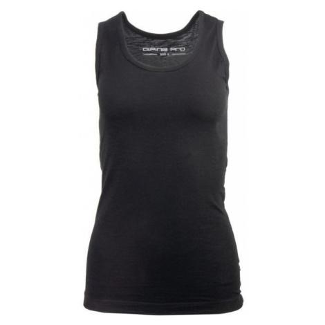 ALPINE PRO MIKSA black - Women's T-shirt
