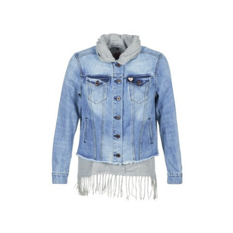 Maison Scotch XAOUDE women's Denim jacket in Blue Scotch & Soda