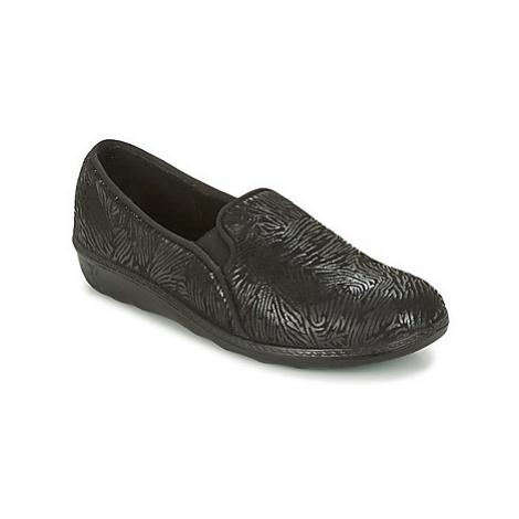 Romika ROMILASTIC 128 women's Slippers in Black
