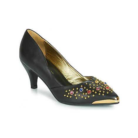 Lola Ramona KITTEN women's Court Shoes in Black