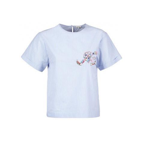 Manoush M BADGE women's T shirt in Blue