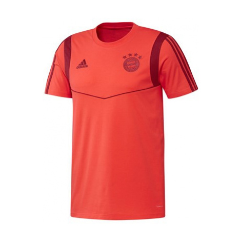 FC Bayern Training Tee - Red Adidas