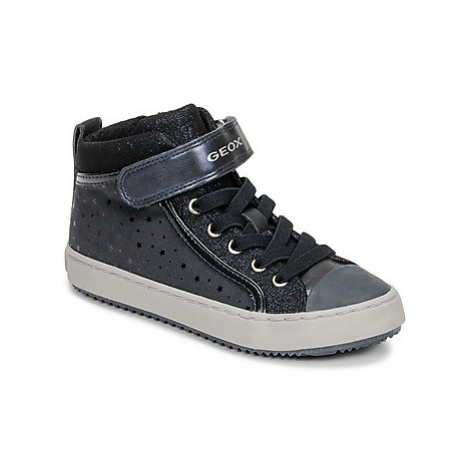 Geox J KALISPERA GIRL girls's Children's Shoes (High-top Trainers) in Blue