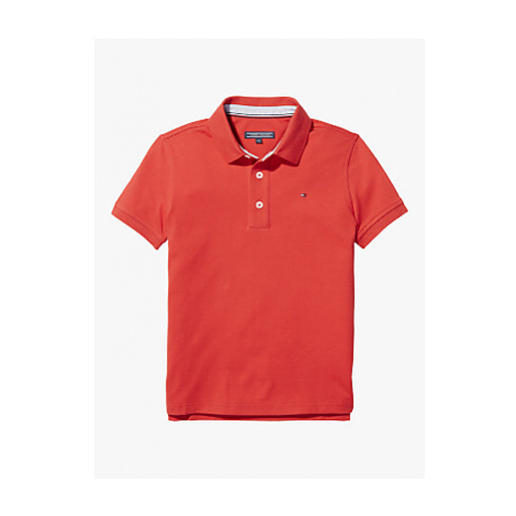 Tommy Hilfiger Boys' Organic Cotton Short Sleeve Polo Shirt