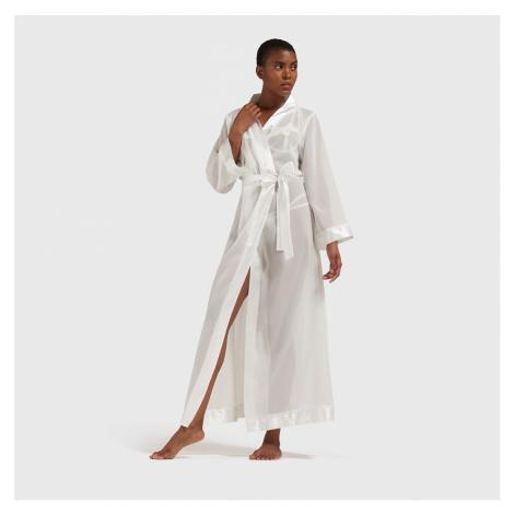 Long Kimono Ivory Bluebella