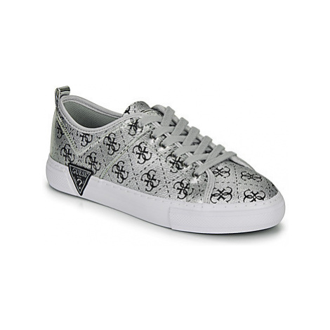 Guess GOLDYN women's Shoes (Trainers) in Silver