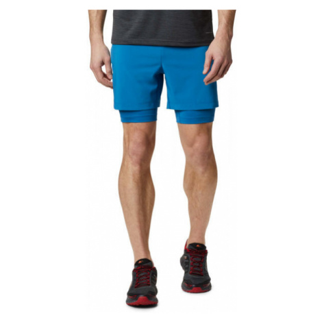 Columbia TITAN ULTRA II SHORT M blue - Men's running shorts