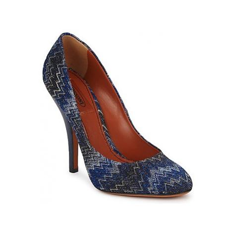 Missoni VM005 women's Court Shoes in Blue