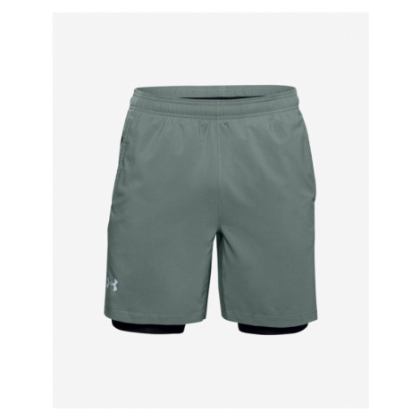Under Armour Launch SW 2-in-1 Short pants Grey