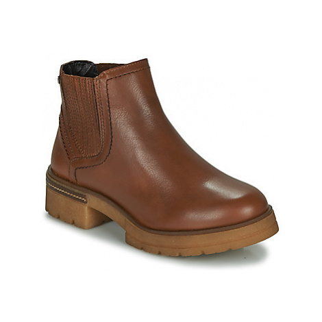 Musse Cloud GABY women's Mid Boots in Brown Musse & Cloud