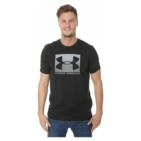 T-Shirt Under Armour Boxed Sportstyle - 001/Black/Steel