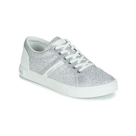 Versace Jeans Couture EOVTBSF2 women's Shoes (Trainers) in Silver